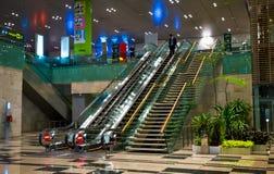 Aeroporto di Singapore Changi Fotografie Stock Libere da Diritti