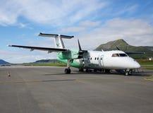 Aeroporto di Skagen, Norvegia Immagini Stock