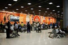 Aeroporto di Suvarnabhumi, Bangkok Immagine Stock