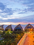 Aeroporto di Suvarnabhumi, Bangkok, Tailandia Fotografie Stock