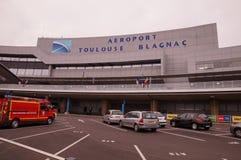 Aeroporto di Tolosa Blagnac Immagine Stock