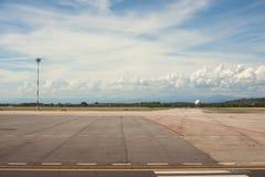 Aeroporto di Trieste Fotografie Stock
