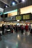 Aeroporto di Valencia immagine stock