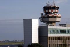 Aeroporto di Venezia con orizzonte fotografie stock libere da diritti