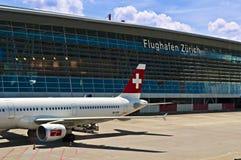 Aeroporto di Zurigo Fotografie Stock Libere da Diritti