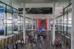 Aeroporto di Zurigo immagini stock libere da diritti