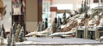 Aeroporto diminuto Fotografia de Stock Royalty Free