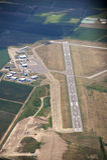 Aeroporto do St. Catharines, Ontário imagens de stock royalty free