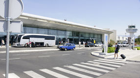 Aeroporto Dubrovnik Imagem de Stock
