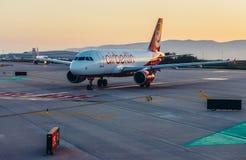 Aeroporto em Barcelona Fotos de Stock Royalty Free