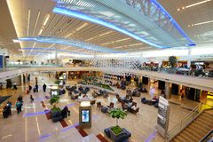 Aeroporto internacional de Atlanta Imagem de Stock