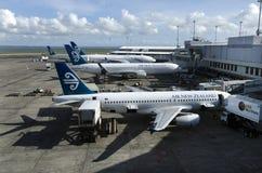 Aeroporto internacional de Auckland Fotografia de Stock