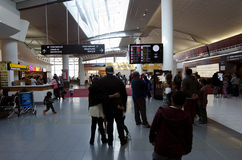 Aeroporto internacional de Auckland Foto de Stock