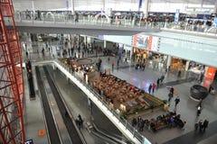 Aeroporto internacional de capital de Beijing Imagem de Stock Royalty Free