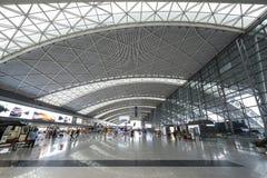 Aeroporto internacional de Chengdu Shuangliu Foto de Stock Royalty Free
