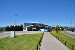 Aeroporto internacional de Chopin Imagens de Stock Royalty Free