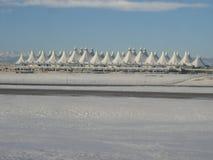 Aeroporto internacional de Denver fotos de stock