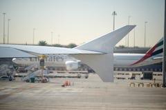 Aeroporto internacional de Dubai Fotos de Stock