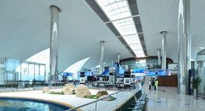 Aeroporto internacional de Dubai Foto de Stock Royalty Free