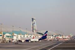 Aeroporto internacional de Dubai Imagem de Stock Royalty Free