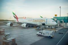 Aeroporto internacional de Dubai Fotos de Stock Royalty Free