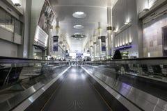 Aeroporto internacional de Dubai Imagens de Stock