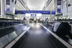 Aeroporto internacional de Dubai Foto de Stock