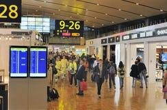 Aeroporto internacional de Helsínquia Fotos de Stock Royalty Free