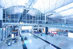 Aeroporto internacional de Hong Kong Imagens de Stock