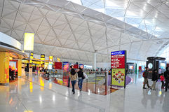 Aeroporto internacional de Hong Kong Fotos de Stock Royalty Free