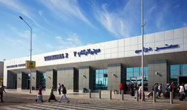 Aeroporto internacional de Hurghada Fotos de Stock