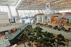 Aeroporto internacional de Incheon (Seoul, Coreia) Fotos de Stock