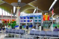 Aeroporto internacional de Kuala Lumpur imagem de stock