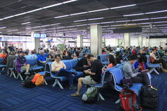 Aeroporto internacional de Mandalay Imagem de Stock