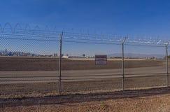 Aeroporto internacional de Mc Carran em Las Vegas - LAS VEGAS - NEVADA - 12 de outubro de 2017 Fotografia de Stock