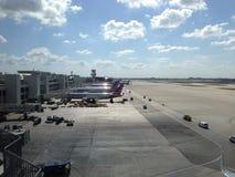 Aeroporto internacional de Miami Fotografia de Stock Royalty Free