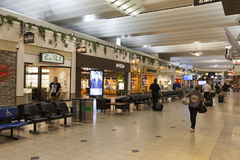 Aeroporto internacional de Minneapolis em Minnesota o 2 de julho de 2013 Foto de Stock