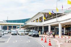 Aeroporto internacional de Phuket o 16 de dezembro de 2015 Imagens de Stock