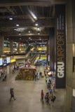 Aeroporto internacional de São Paulo-Guarulhos - Brasil fotos de stock royalty free