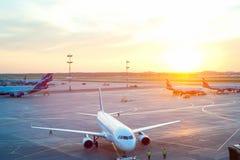 Aeroporto internacional de Sheremetyevo Fotos de Stock Royalty Free