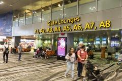 Aeroporto internacional de Singapore Changi Fotografia de Stock