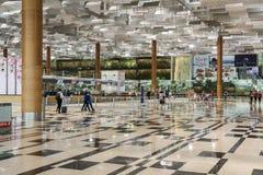 Aeroporto internacional de Singapore Changi Imagem de Stock