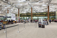Aeroporto internacional de Singapore Changi Imagem de Stock Royalty Free
