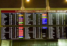 Aeroporto internacional de Singapore Changi Foto de Stock