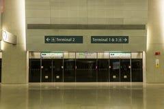 Aeroporto internacional de Singapore Changi Imagens de Stock