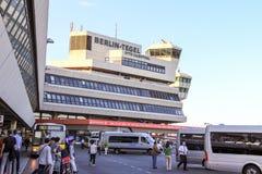 Aeroporto internacional de Tegel Fotografia de Stock