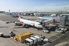 Aeroporto internacional de Toronto Pearson Imagens de Stock