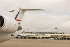 Aeroporto internacional de Viru Viru Fotografia de Stock
