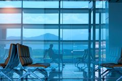 Aeroporto internacional do Da Nang Imagens de Stock