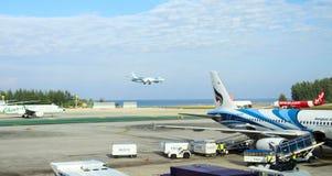 Aeroporto internacional em Phuket Fotos de Stock